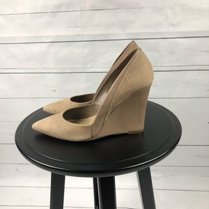 Steven by Steve Madden nude wedge
